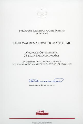 Waldemar_Domanski_Nagroda_Obywatelska_25_lat_Samorzadnosci-1